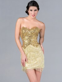 Gold Cocktail Dress Picture Collection | Dressed Up Girl