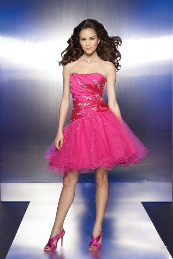 Pink Cocktail Dress Picture Collection  DressedUpGirlcom