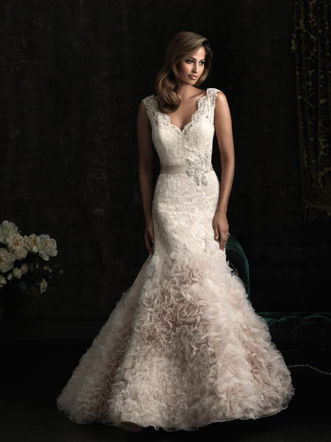 Blush Wedding Dress  DressedUpGirlcom