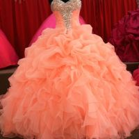 Coral Quinceanera Dresses | Dressed Up Girl