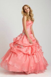 Coral Quinceanera Dresses Picture Collection | Dressed Up Girl