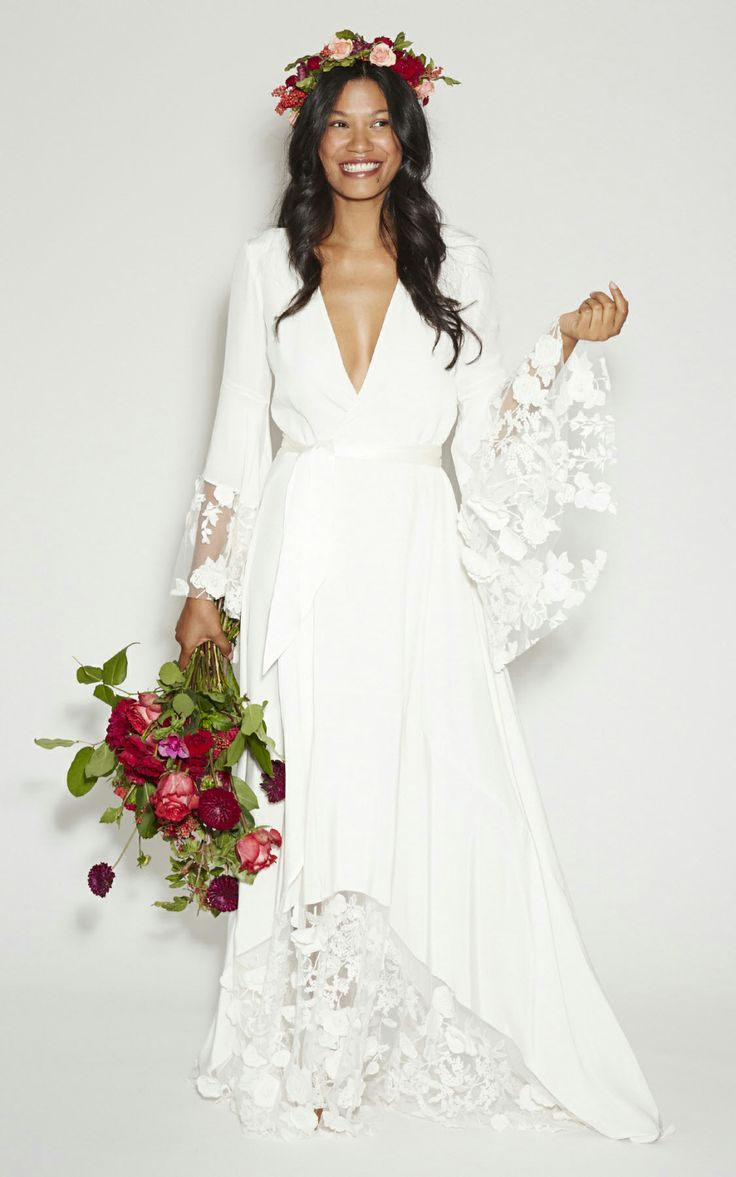 Hippie Wedding Dresses  DressedUpGirlcom