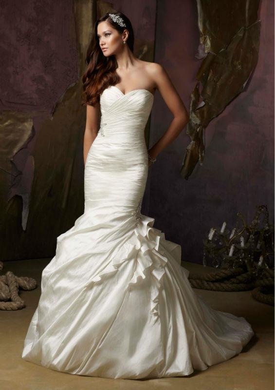 Mermaid Wedding Dresses  Dressed Up Girl