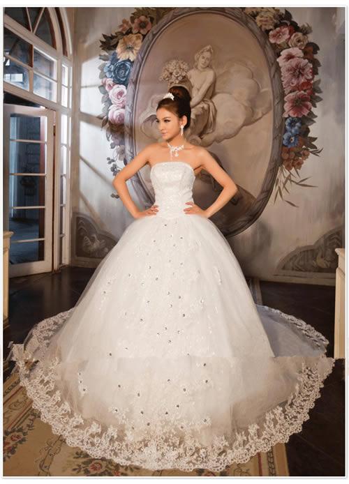 Princess Wedding Dresses  DressedUpGirlcom