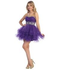 Short Purple Dresses For Prom   www.pixshark.com - Images ...