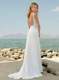 Simple Wedding Gown Beach | www.imgkid.com - The Image Kid ...