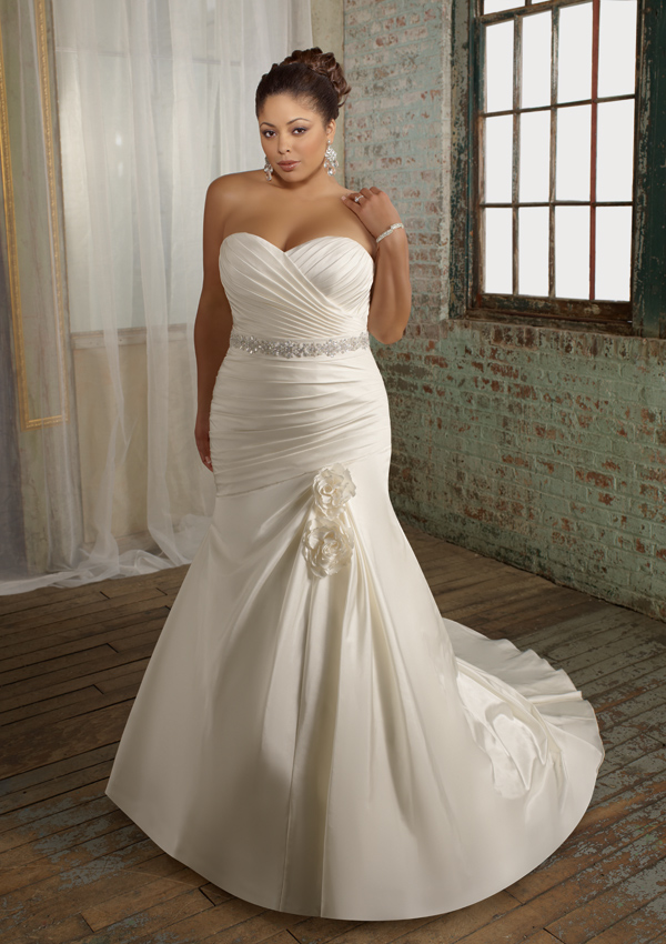 Plus Size Wedding Dresses  DressedUpGirlcom