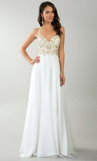 White Prom Dresses | Dressed Up Girl