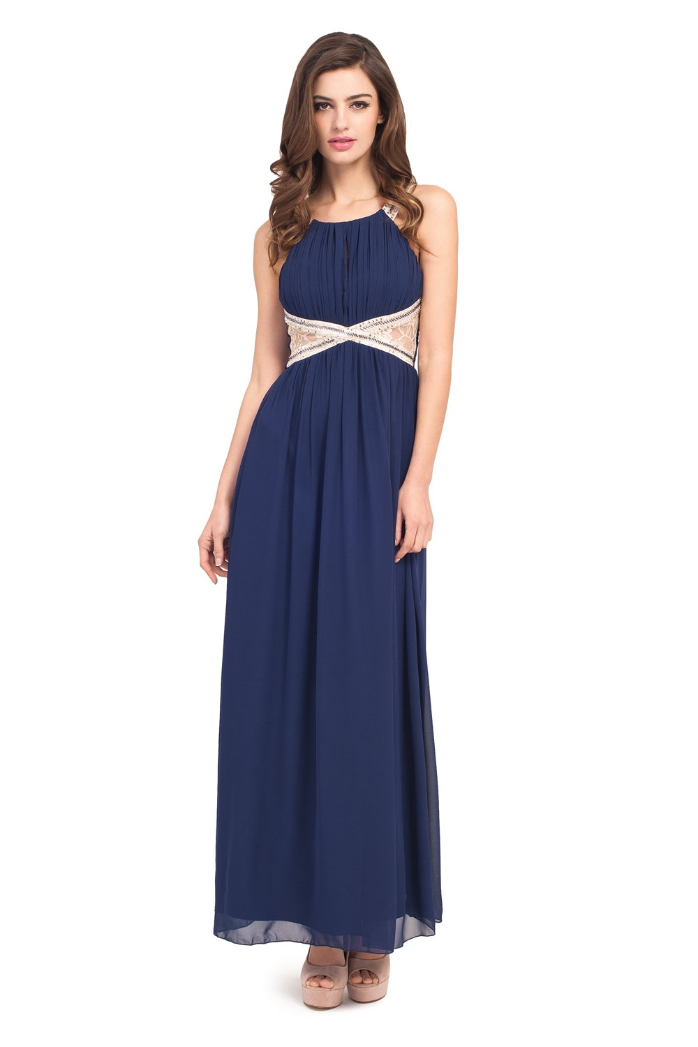 Navy Maxi Dress  DressedUpGirlcom