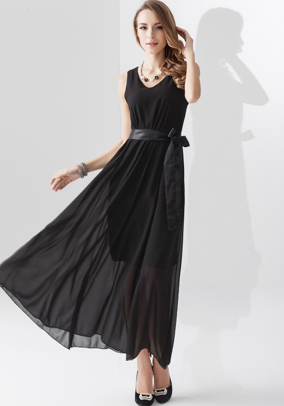 Black Maxi Dress  Dressed Up Girl