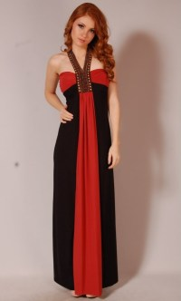 Red Maxi Dress   Dressed Up Girl