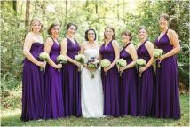 Convertible Bridesmaid Dress Dressed Girl