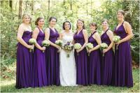 Convertible Bridesmaid Dress | Dressed Up Girl