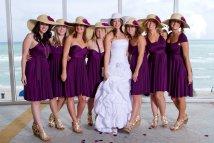 Convertible Infinity Bridesmaid Wrap Dress