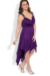 Plus Size High Low Dresses   Dressed Up Girl