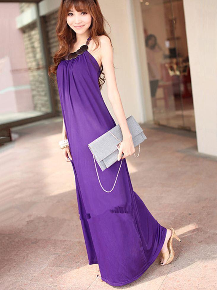 Purple Maxi Dress Dressed Up Girl