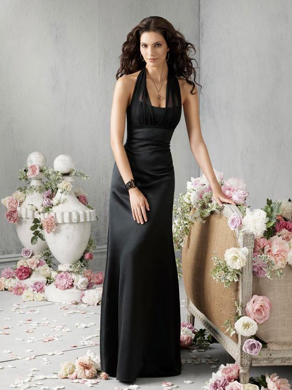 Long Bridesmaid Dresses  DressedUpGirlcom