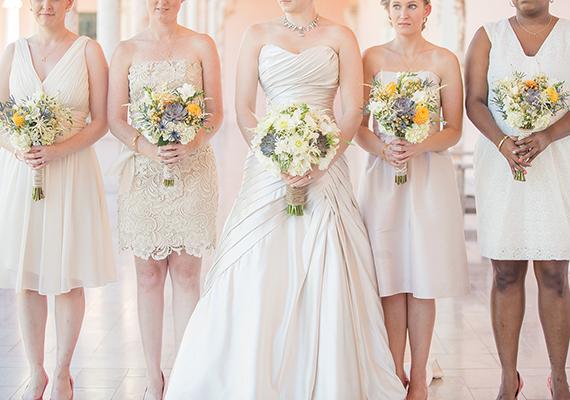 Ivory Bridesmaid Shoes