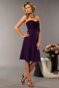 Plum Colored Bridesmaids Dresses - Gown And Dress Gallery