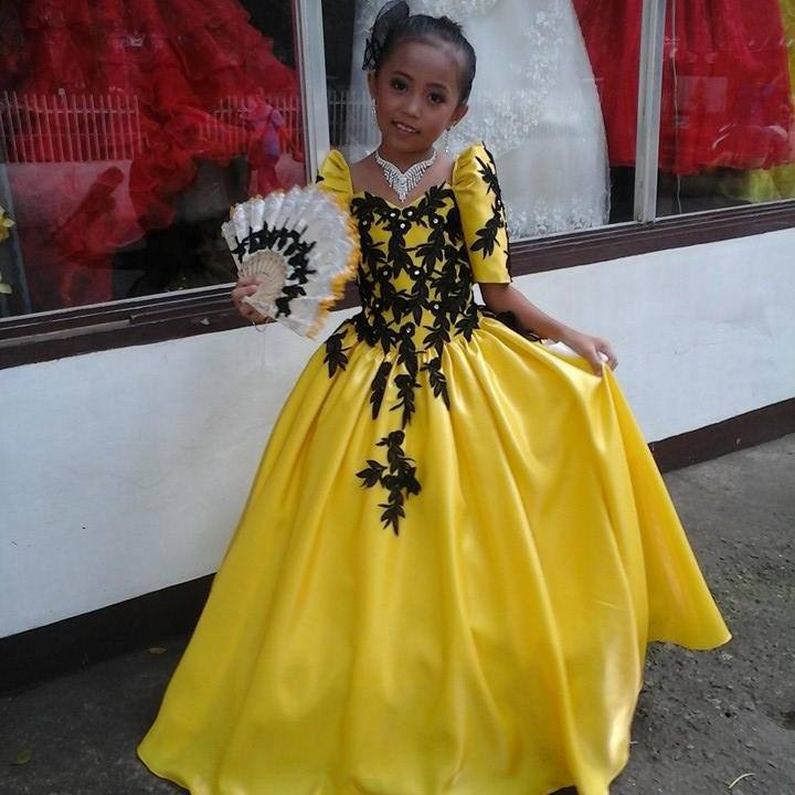 Filipiniana Gowns  Dressed Up Girl