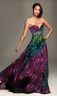 Peacock Gown | Dressed Up Girl