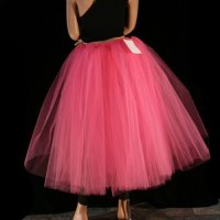 Poofy Skirt   Dressed Up Girl