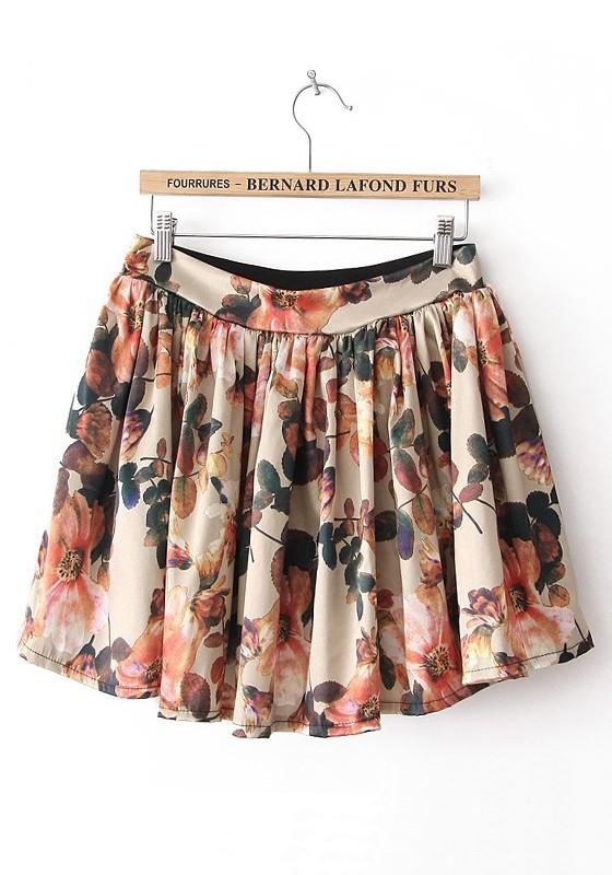 Flower Skirt  Dressed Up Girl
