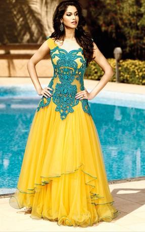 Indian Gowns  DressedUpGirlcom