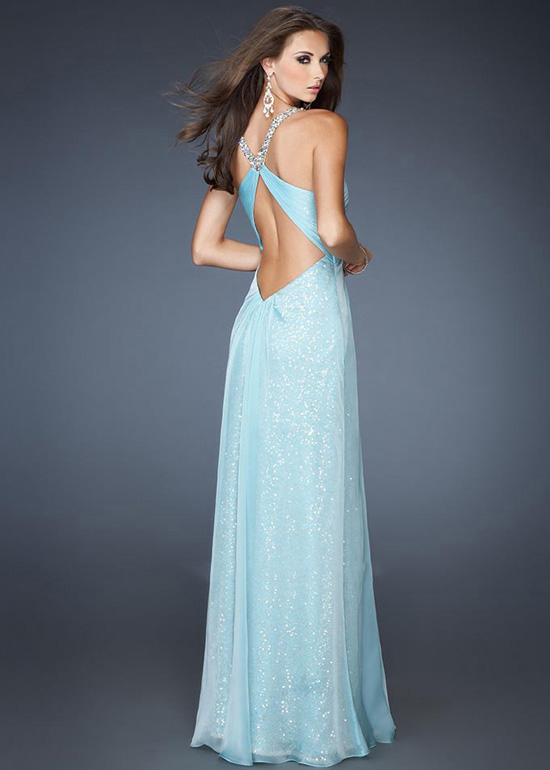 Open Back Gown  Dressed Up Girl
