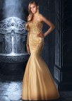 Gold Mermaid Wedding Dress