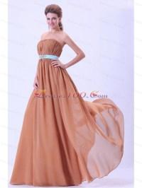 Rust Red Bridesmaid Dresses Blue Belt Ruching |New ...