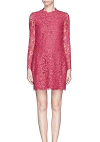 Top 3 elegant red lace formal dresses for bridesmaids