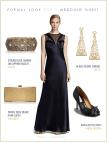 Black Tie Wedding Dress