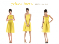 Yellow Dresses for Bridesmaids and Guests