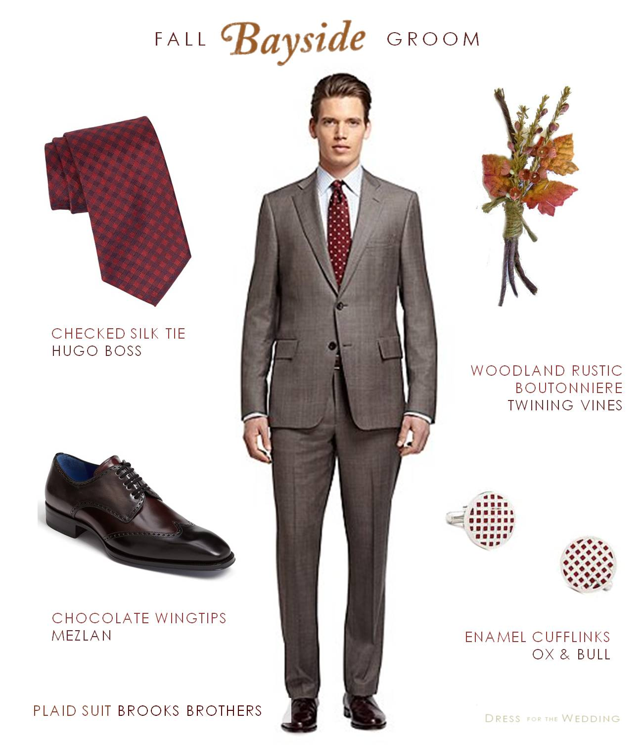 Fall Wedding Mens Attire