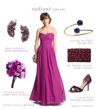Radiant Orchid Wedding Style