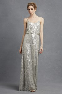 Romantic Dresses and Sequined Gowns for Weddings from
