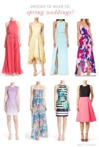 Wedding Guest Dresses for Spring Weddings