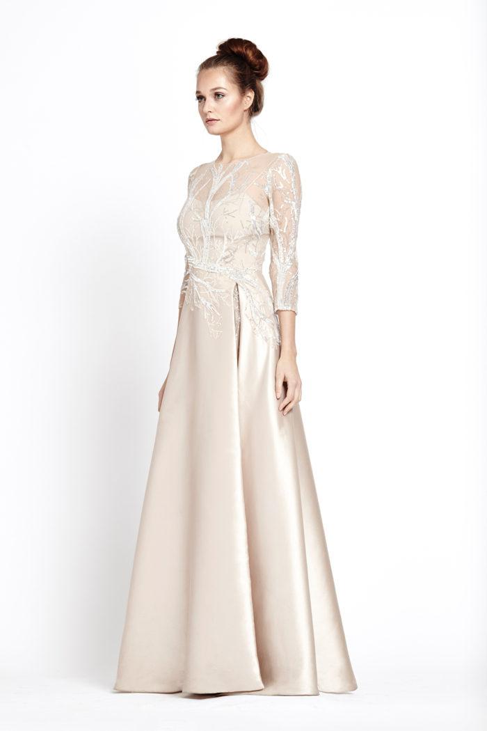 Overlay Tadashi Dress Shoji Lace