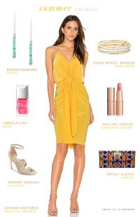 Summer Cocktail Attire | Dress for the Wedding