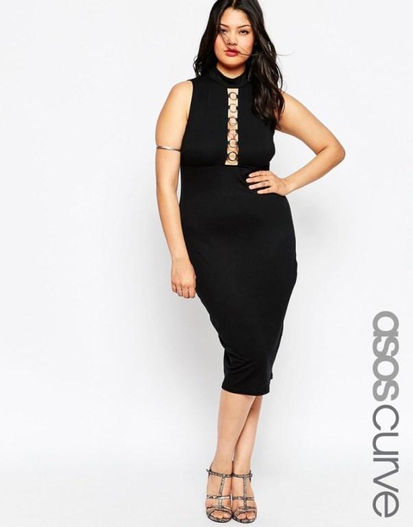 bold plus size dress
