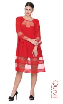 Qurvii red dress 2