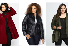 Plus size fall jackets