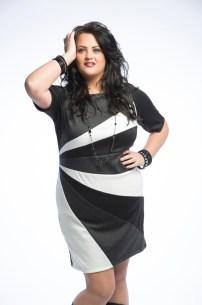 ASK FASHION BWG Block Dress Fall15-3