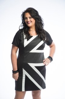 ASK FASHION BWG Union Jack Dres Fall15