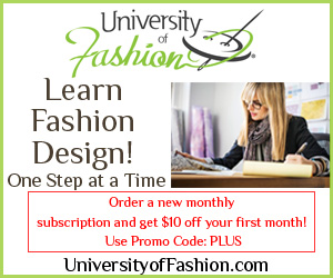 University of Fashion Dressing Room 8 Banner