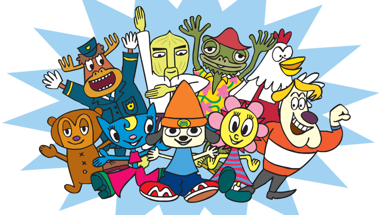 PaRappa_The_Rapper_groupshot.0