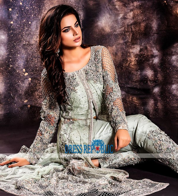 Ayesha Usman Qamar Houston Designer Party Dresses