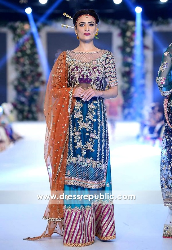 Blue Venus Occasion Wear Lehenga