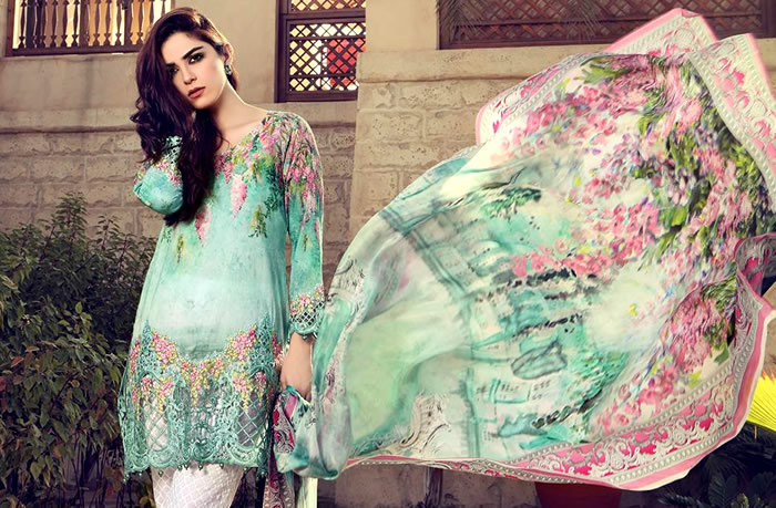 Maria B Lawn 2017 now available at Dress Republic